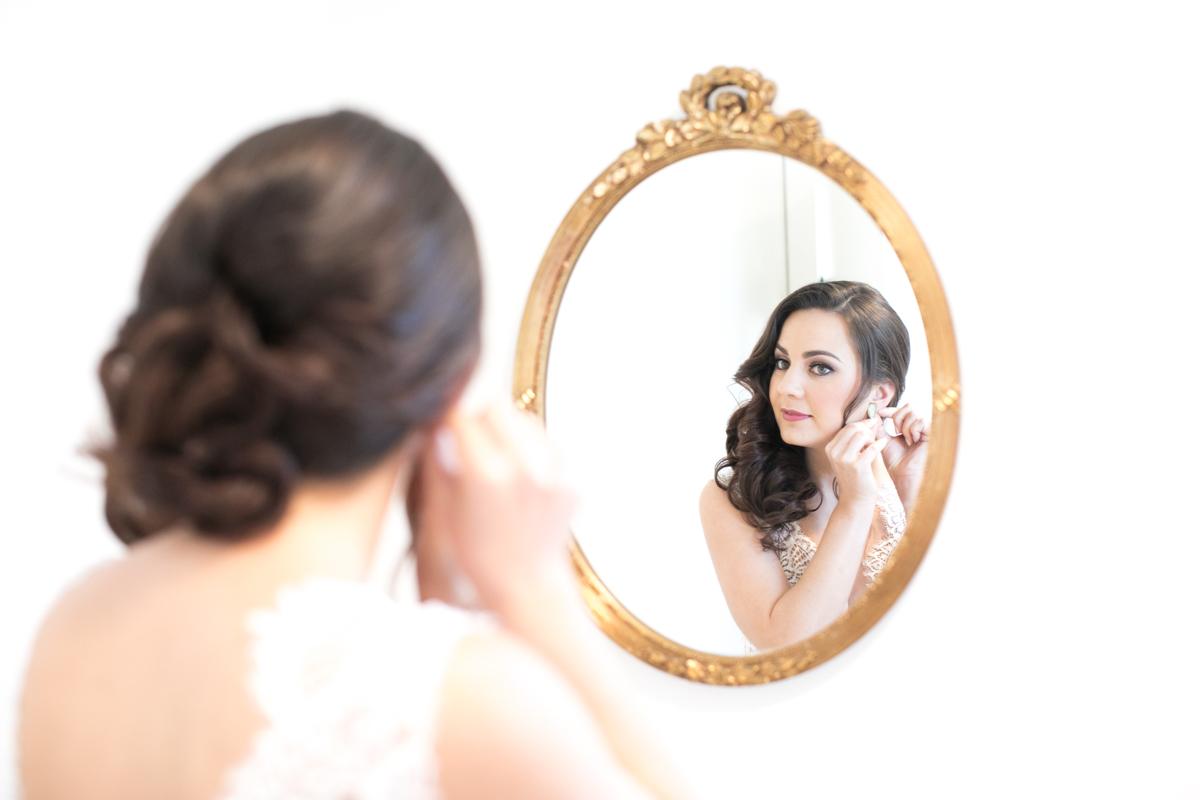 Down Wedding Hair Inspiration – Christine Chang Photography